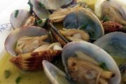 Image of clams on a plate